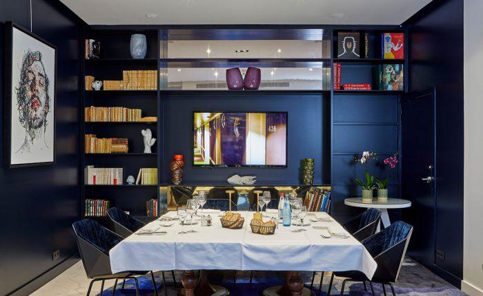 Frühstück im modernen 5 Sterne Hotel in Paris