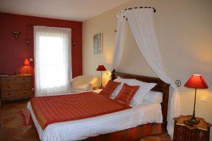Dordogne - Zimmer im Gaestehaus