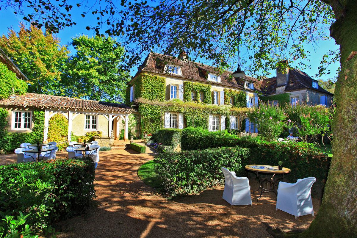 Relais & Chateaux Hotel - Terrasse