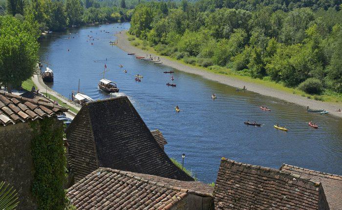 Dordogne - Kanufahrt