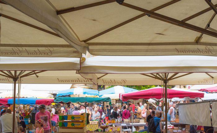 Dordogne - Sarlat Wochenmarkt