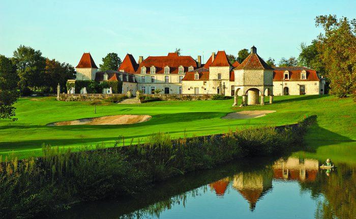 Schlosshotel mit Golfplatz