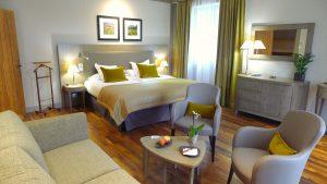 Burgund-Luxushotel-Zimmer