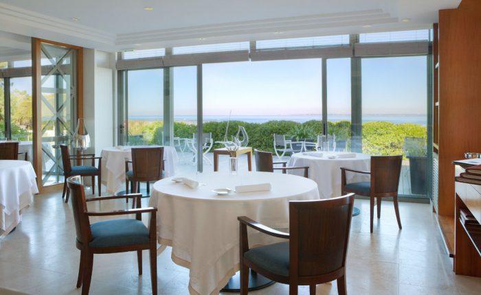 Sterne Restaurant mit Meeresblick