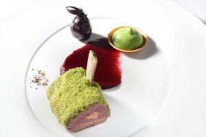 Fleischgericht im Sternerestaurant