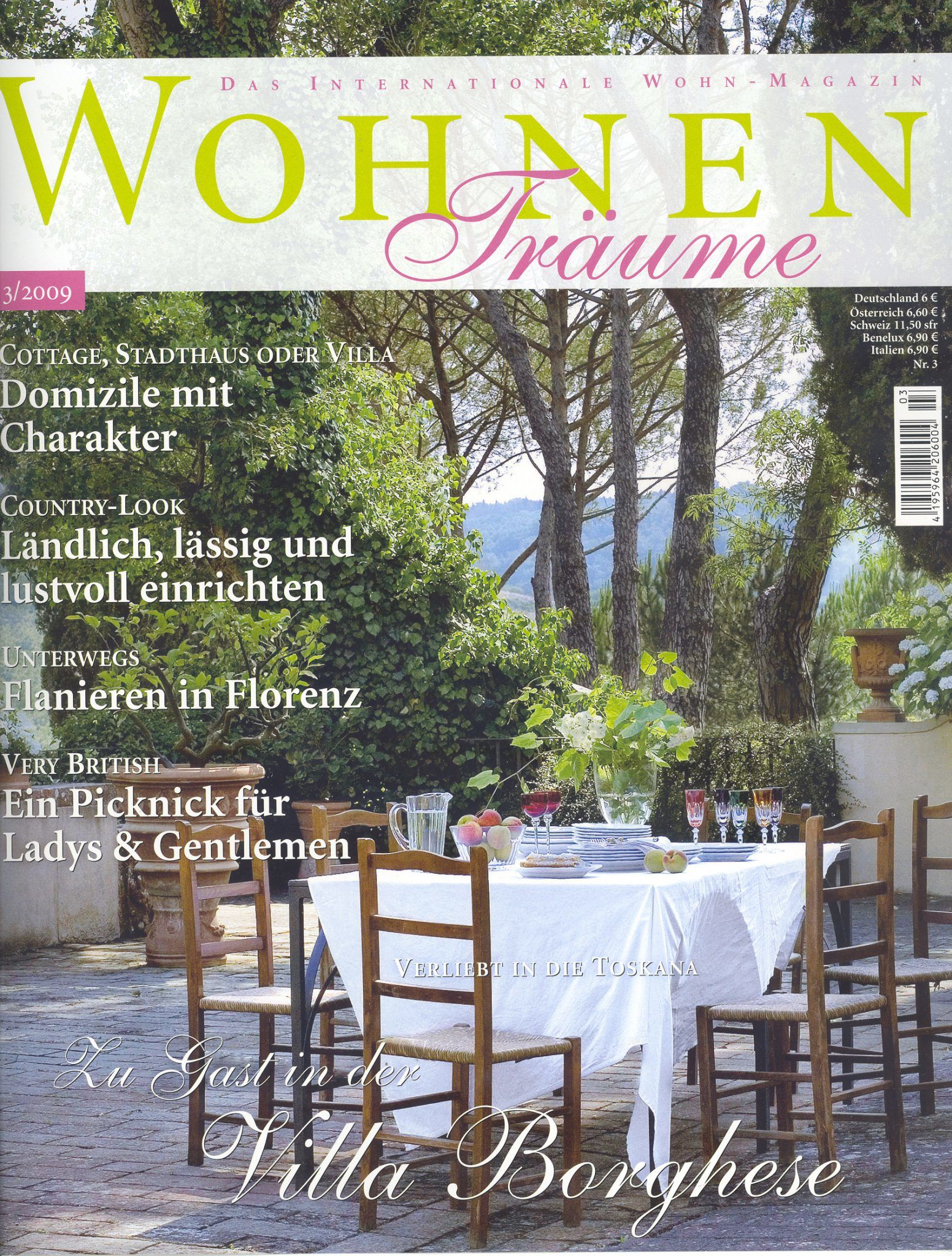 Presse Cover Wohnen