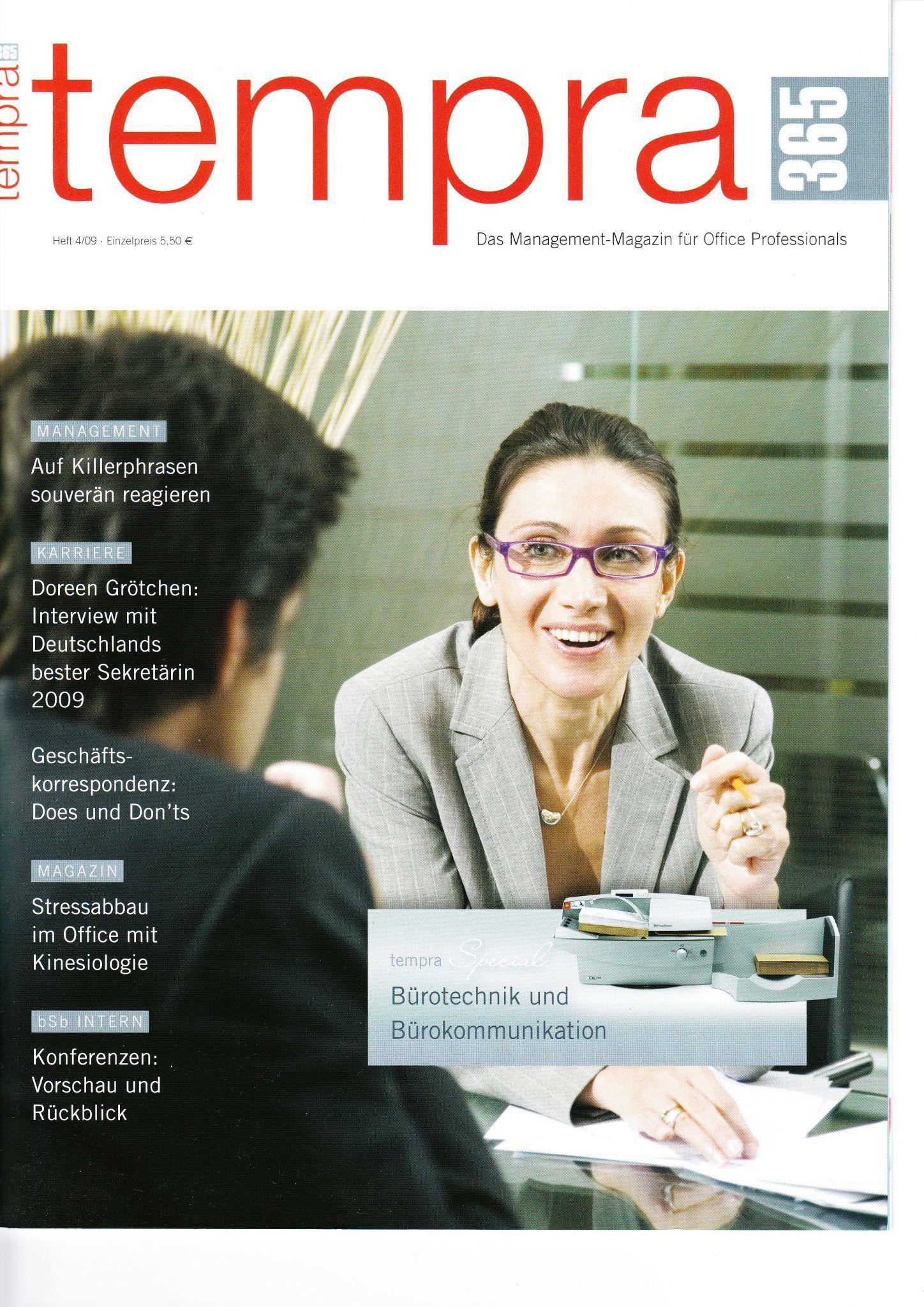Presse Cover Tempra