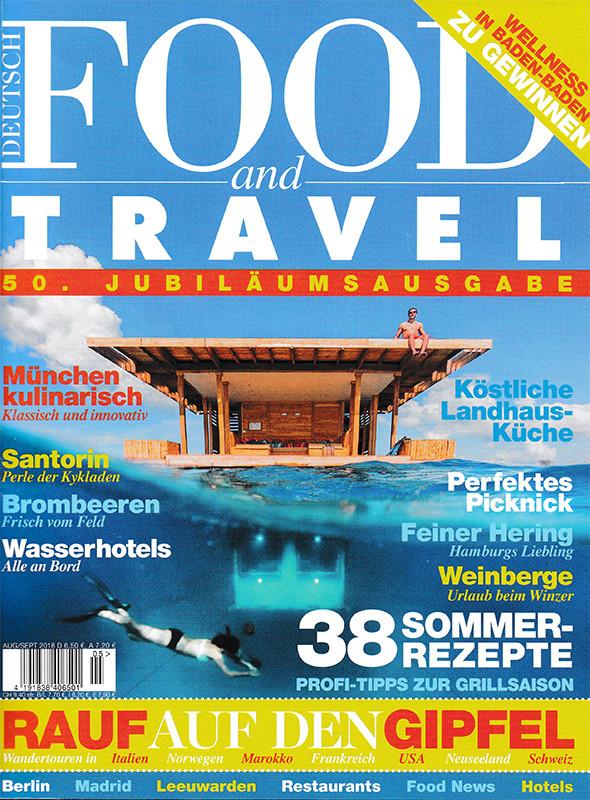 presse Beitrag Food and Travel